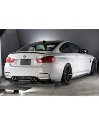 Varis Carbon Fiber Rear Diffuser Skirt BMW F82 M4 15-20
