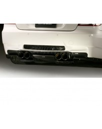 Varis Full Plain Weave Carbon Fiber Rear Diffuser System 1 BMW E92 M3 08-13