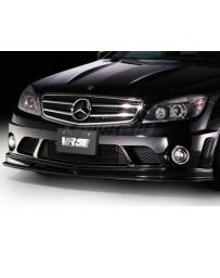 Varis Carbon Steel Front Spoiler Mercedes Benz C63 AMG C Class 08-14