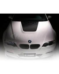 Varis Carbon Fiber Cooling Bonnet BMW E46 M3 Street 01-06