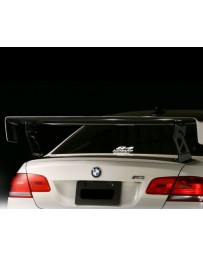 Varis Plain Weave Carbon Fiber Wing Base BMW E92 M3 08-13