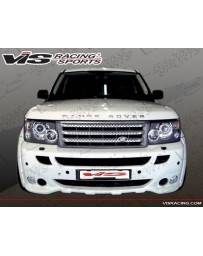 VIS Racing 2006-2009 Range Rover Sports Euro Tech Front Bumper