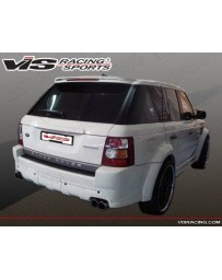 VIS Racing 2006-2009 Range Rover Sports Euro Tech Rear Bumper