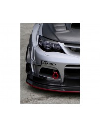 Varis Carbon Single Hyper Canard Set for Wide Body Bumper Subaru WRX GRB 08-16