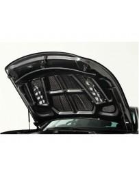 Varis FRP V-Shaped Bonnet Hood with Dual Fins Infiniti M37 M56 Y51 Fuga 11-13