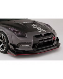Varis Circuit Version Front FRP Bumper Kit VSDC Diffuser No Drl Hole Nissan GTR R35 09-16