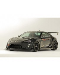 Varis Semi-Carbon Wide Body Kit D with Front VSDC Diffuser Toyota GT-86 ZN6 13-15