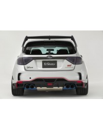 Varis Ultimate Rear Diffuser (Varis Rear Bumper Version) GRB Subaru WRX Hatchback 08-14