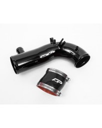 "Agency Power Hard Turbo Inlet Pipe Kit w/2.25"" Coupler Gloss Black Subaru WRX 02-07"