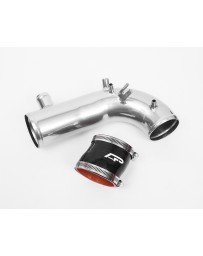 "Agency Power Hard Turbo Inlet Pipe Kit with 2.25"" Coupler Super Chrome Subaru STI WRX Forester 02-17"