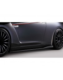 Varis VSDC-Carbon Side Diffuser Nissan GTR R35 09-16