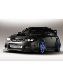 Varis Carbon Front Bumper Subaru STi GRB 08-16