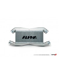 AMS Performance 2009+ Nissan GT-R R35 Replacement Alpha FMIC for Stock IC Piping with Logo