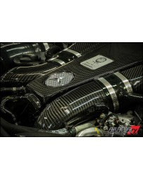 AMS Performance 2014+ Mercedes-Benz CLS63 AMG 4Matic Alpha Carbon Fiber Engine Cover