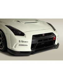 Varis Front FRP Bumper System w/No Drill Hole Diffuser Drl Hole Nissan GTR R35 09-16