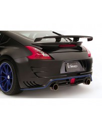 Varis Arising 2 Rear All FRP Bumper Nissan 370Z Z34 09-18