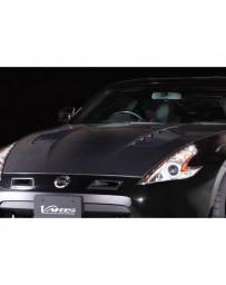 Varis Carbon Cooling Carbon Bonnet Nissan 370Z Z34 09-18