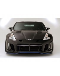 Varis Arising 2 Front All FRP Bumper for Duct Nissan 370Z Z34 09-18