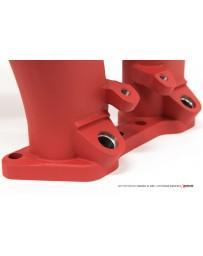 AMS Performance Subaru EJ25 Reverse Rotation Intake Manifold - Texture Red Powder Coating