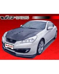 VIS Racing 2010-2012 Hyundai Genesis Coupe Pro Line Carbon Fiber Front Lip