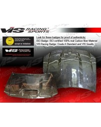 VIS Racing 2005-2010 Chrysler 300/300C 4Dr Srt Fiber Glass Hood