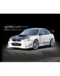 Varis Carbon Front Spoiler Subaru STi GDB C-D-E 02-15