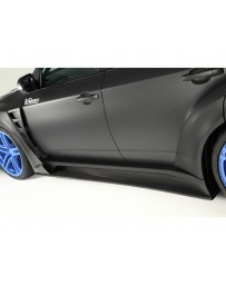 Varis Big Carbon Underboard Subaru STi GRB 08-16