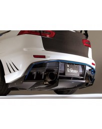 Varis Rear Half Carbon Diffuser for Varis Rear Half Carbon Bumper Mitsubishi EVO X CZ4A 08-15