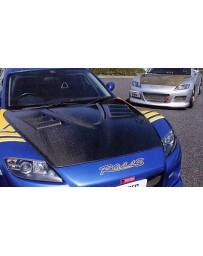 Varis FRP Aero Bonnet Mazda Mazda RX-8 SE3P 04-08