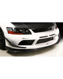 Varis FRP Replacement Under Lip Mitsubishi EVO CT9A '09 Ver 06-07