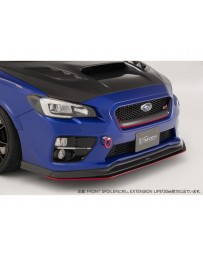 Varis Optional FRP Extension Lip for FrontSpoiler Subaru WRX VAB 15-16