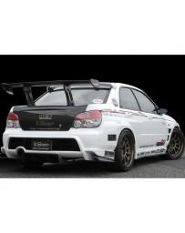 Varis Rear Carbon Diffuser Subaru WRX GDB C-D-E 02-15