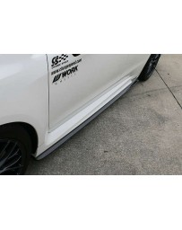 ChargeSpeed Bottom Line Carbon Side Skirts (Japanese CFRP) Pair Subaru Impreza Levorg 15-18