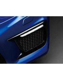 ChargeSpeed Front Turn Signal Lights with OEM Subaru Plastic Black Bezel (Pair) Subaru WRX STi VA-D 18-19