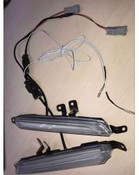 ChargeSpeed Front Turn Signal Lights with OEM Subaru Plastic Black Bezel (Pair) Subaru WRX S4 VA-D 18-19
