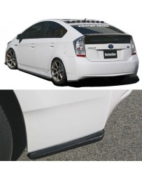 ChargeSpeed Bottom Line Rear Caps Carbon (Japanese CFRP) Toyota Prius 10-15