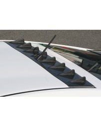 ChargeSpeed Roof Fin Carbon (Japanese CFRP) Toyota Prius 10-15