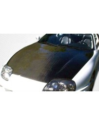 ChargeSpeed OEM Carbon Hood (Bolt-on, Off Road Only & Hood Pin Required) Toyota Supra 93-98