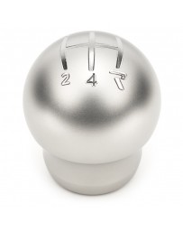Raceseng Contour Shift Knob (Gate 4 Engraving) M12x1.25mm Adapter - Beaded