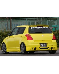 ChargeSpeed Half Type Full Kit FRP (Japanese FRP) Suzuki Swift Sport Model Z31S 04-10