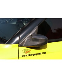 ChargeSpeed Aero Mirror Carbon (Japanese CFRP) Pair Right Hand Drive Suzuki Swift Sport Model Z31S 04-10