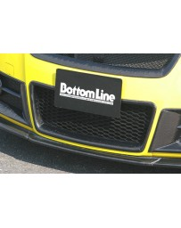 ChargeSpeed Front Bumper Center Grill Carbon (Japanese CFRP) Suzuki Swift Sport Model Z31S 04-10