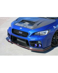 ChargeSpeed Type-2A Front Bumper w/FRP Under Part Subaru WRX STi 15-18