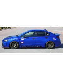 ChargeSpeed Type-2A Complete Kit with Front Carbon Under Part Subaru WRX STi 15-18