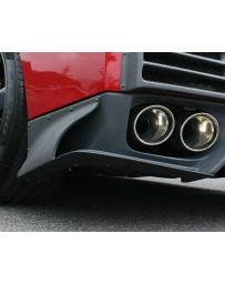 ChargeSpeed Rear Under Side Cowl Gloss Carbon for Charge Speed Rear Diffuser CFRP Nissan GT-R R35 09-16