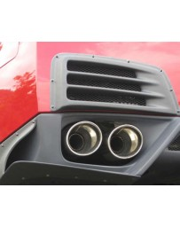 ChargeSpeed Rear Bumper Duct Cowl Gloss Carbon CFRP Nissan GT-R R35 09-16