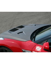ChargeSpeed Vented Hybrid FRP Hood Nissan GT-R R35 09-20