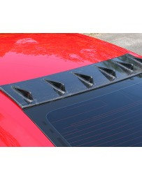 ChargeSpeed Carbon Fiber Roof Fin Nissan GTR R35 09-20