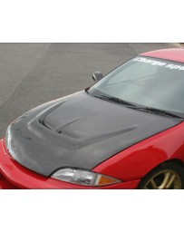 ChargeSpeed Carbon Vented Hood Chevrolet Cavalier 95-02
