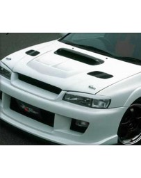 ChargeSpeed WRX Style Carbon Center Hood Air Duct Subaru Impreza GC-8 95-01